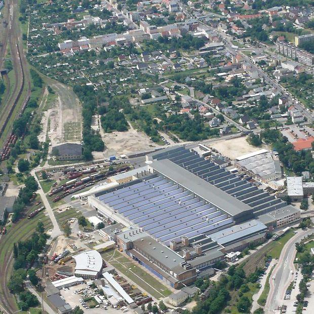 Maintenance Depot Cottbus Deutsche Bahn Ag