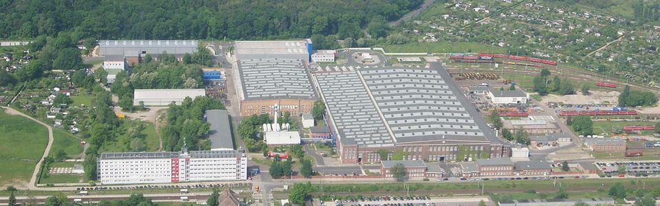 Unser Werk in Dessau