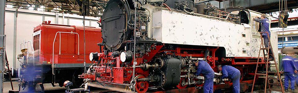Historische Schienenfahrzeuge